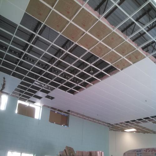 ceiling tile grid system installation