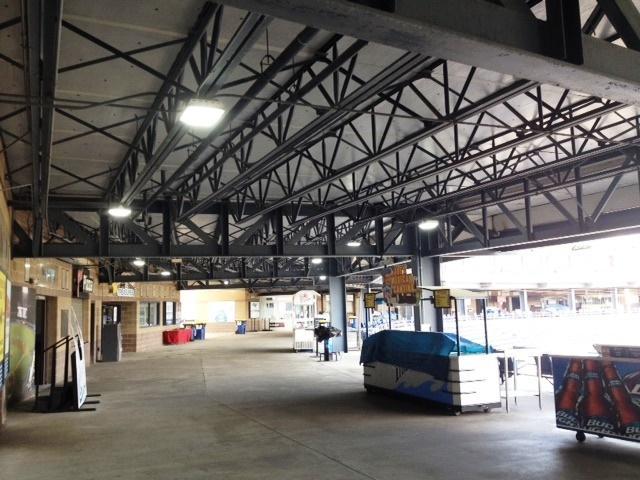 low bay concourse stadium