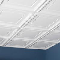 white pvc ceiling tiles